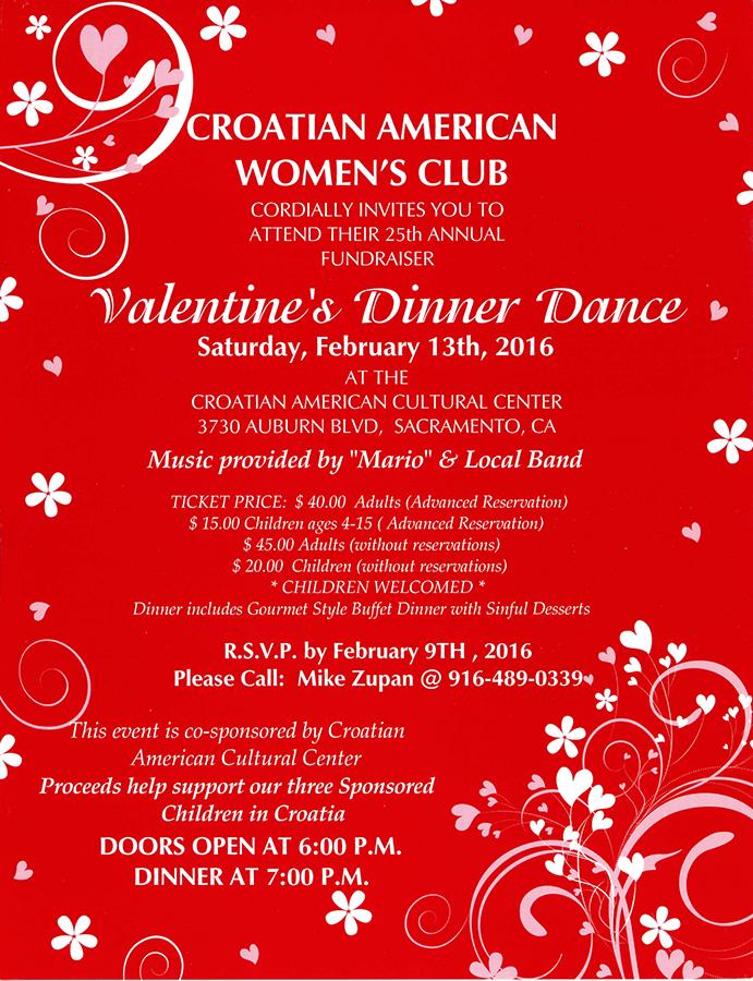 Valentine's Dinner Dance 2016